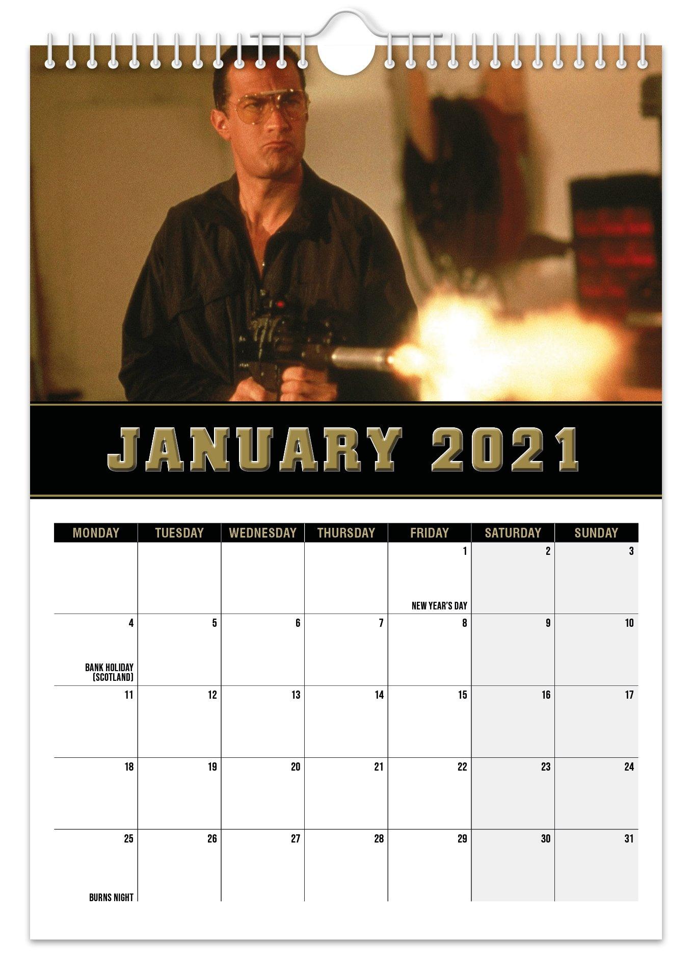 Steven Seagal 2021