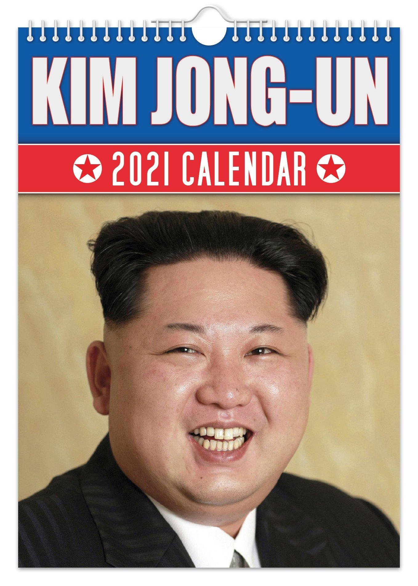 Un Calendar 2021 Kim Jong Un   2021 A4 Wall Calendar   The Calendar King